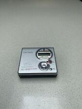 Sony mini disc player recorder MZ-R410