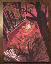 Ray Lamontagne Autographed Signed Greenville SC 2014 Concert Poster James Flames