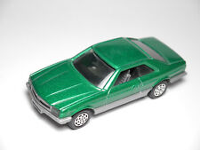 Mercedes 126 500 SEC in grün green metallic, Mattel / Hot Wheels in 1:43 - solo!