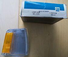 5974198 front side marker lamp RH 1986 Chevrolet Celebrity