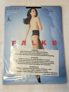 Falke Shaping Top 20 Tights, Black, L