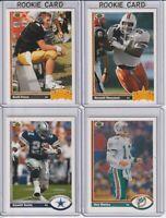 1991 Upper Deck Football Complete Set 1-500 Brett Favre Rookie
