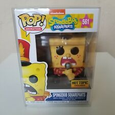 FUNKO POP! Spongebob Squarepants #561 Hot Topic Exclusive w/ Protector