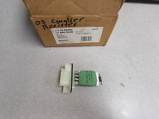 New OEM ACDelco GM AC Delco Blower Motor Resistor 1580460 89018230