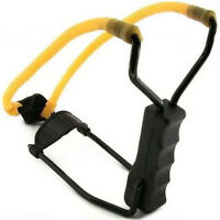 HIGH VELOCITY FOLDING WRIST SLINGSHOT Catapult Powerful Hunting Sling Shot