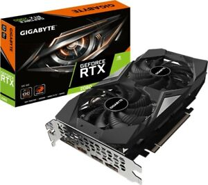Gigabyte NVIDIA GeForce RTX 2060 OC 6G   6GB GDDR6   Raytracing   VR   Windforce
