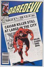 Daredevil 242 Marvel Comics 1987 Caviar Killer Ann Nocenti Keith Pollard