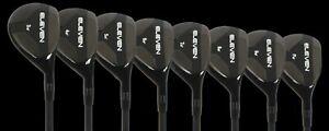 2020 ELEVEN Golf NH Tour Hybrid Irons Full Set 6-PW Ladies Flex Rescues Graphite