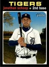 2020 Topps Heritage High Number #572 Jonathan Schoop  Detroit Tigers Baseball