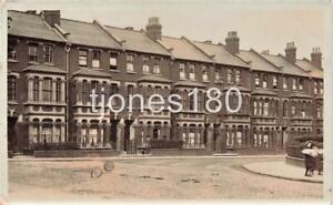 1907 HIGHBURY EAST  Calabria Road  LONDON Photo Postcard