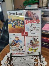 Seven Alone - Poco -Toby McTeague - George (DVD Kids Adventure Films) brand new