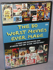 NEW - The Worst Movies Ever Made (DVD, 2004) OOP - Documentary - SEALED