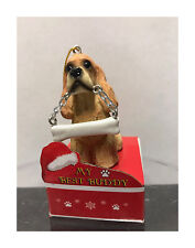 E&S Pets My Best Buddy Cocker Spaniel with Bone Christmas Ornament