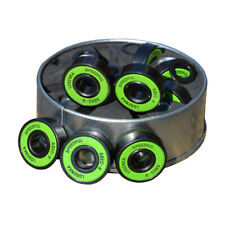 High Speed Longboard Skateboard Black Wheels with Abec 9 Bearings Spacers
