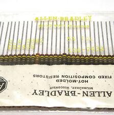 50x Allen Bradley Widerstand, 2.4 Ohm / 0.5 W, Vintage Tube Amp Resistors, NOS