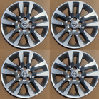 """4 NEW 16"""" Silver Hubcap Wheelcover that FITS 2007-2018 Nissan ALTIMA hub cap <br/> FULL SET OF 4 ALL SILVER HUBCAPS. SHIPS PRIORITY"""