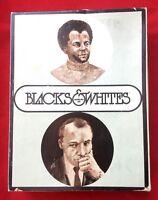 Vintage 1970 Blacks & Whites Game Psychology Today Original B&W Version in Box
