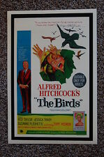 THE BIRDS Lobby Card Movie Poster ALFRED HITCHCOCK