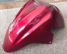 SUZUKI BURGMAN AN400 FRONT MUDGUARD RED METALLIC FREE POST