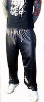 Men Wet Look Shiny Sports Tracksuit Pants Size S M L XL 2XL 3XL 4XL