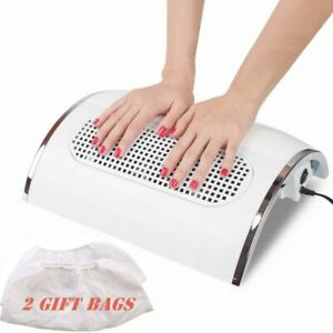 Electric Nail Dust Suction Collector With Three Fan Manicure Tool Vacuum Cleaner