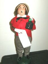 Byers' Choice 1987 Carolers Man with Lantern and Sheet Music
