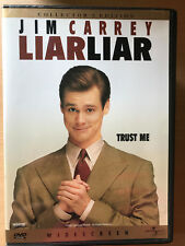 Jim Carrey LIAR LIAR 1997 Court Room Comedy Collector's Edition Region 1 US DVD