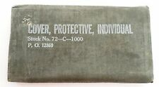 Sealed Unissued US Military USGI WWII Individual Blister Gas Protective Cover