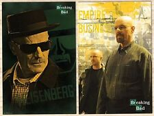 TWO (2) BREAKING BAD POSTERS 22x34 NEW FREE SHIPPING GREAT DEAL!!