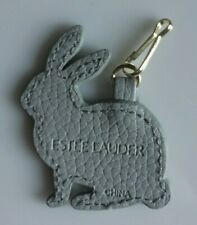 ESTEE LAUDER Animal Bag Charm/Key Fob GREY RABBIT New