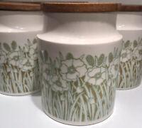 Hornsea Fleur Large Storage Jar/Canister | Hornsea Pottery | Fleur Range | VGC