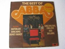 The Best of Abba World LP Record India-1515