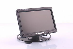 7 Inch Monitor for Rear View Camera Fits Honda Vehicle Etc