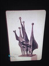 """Kenneth Armitage """"People In A Wind"""" British Modern Sculpture 35mm Art Slide"""