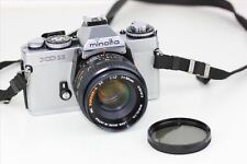 Minolta Film Camera With Lens