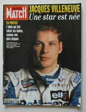 PARIS MATCH Mars 1996 Jacques VILLENEUVE Gilles Villeneuve