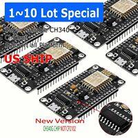 NodeMCU Lua ESP8266 ESP-12E CH340G Arduino compatible wifi development board