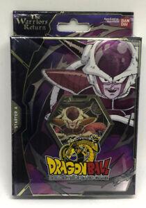 Dragonball Z TCG CCG Warriors Return Frieza Starter Deck Set A