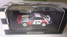 Porsche 911 SC Rally / East African Safari 1978 / Martini v. Minichamps 1:43