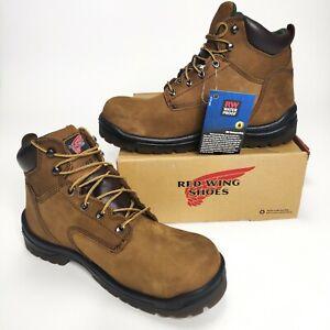"Red Wing King Toe 6"" Waterproof EH Hazard Resistant Work Boots 435 Size 11.5"