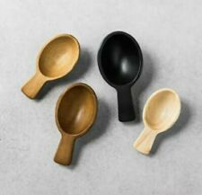 New listing Hearth and Hand Magnolia 4 Pk Wooden Scoop Set Wood Spoons Farmhouse