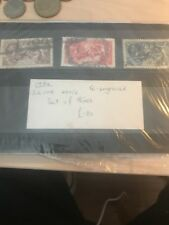 GB STAMPS - KGV - SEAHORSE SET - USED FROM A HOUSE CLEARANCE