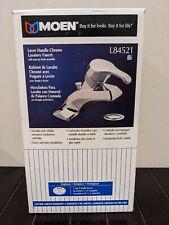 Moen L84521 Lavatory Faucet Lever CHROME Handle Open Box