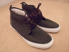 NEW LYLE & SCOTT LUNAN CASUAL TWILL HI TOP BOOTS TRAINERS SHOES UK 7 / 41 £60.00