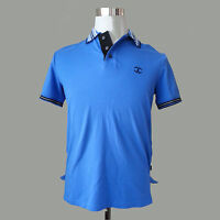 Just Cavalli Men Classic Polo Shirt Size S Made in Turkey 8% Elastane Slim Fit