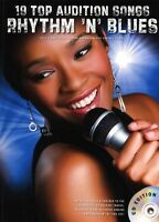 Top Audition Songs Rhythm N Blues R&B Learn to SING Pop PIANO PVG Music Book