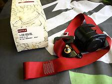 GENUINE ROVER METRO GTi FRONT SEAT BELT 3 DOOR TYPE RED EVB10036RDL