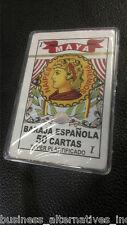 Baraja Espanola-50 Cartas-Super Plastificado-Caso Plastico-Spanish Playing Cards
