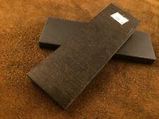 Maroon Pair of  Micarta Scale Jewelry-Razor-Knife Handle Making Supplies-MC4
