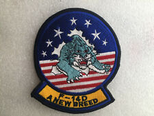 COLLECTION ECUSSON/PATCH MILITAIRE F-14D A NEW BREED